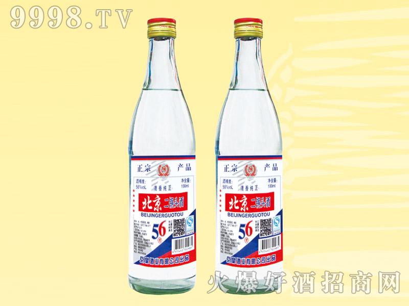 京畅北京二锅头酒56度清香纯正500ml(白瓶)