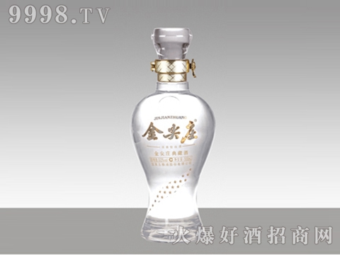 和平玻璃瓶HM-012金尖庄500ml