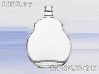醴陵晶白玻璃瓶苹果型JB-268 440ML