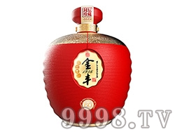 金丰纪念酒坛装红3