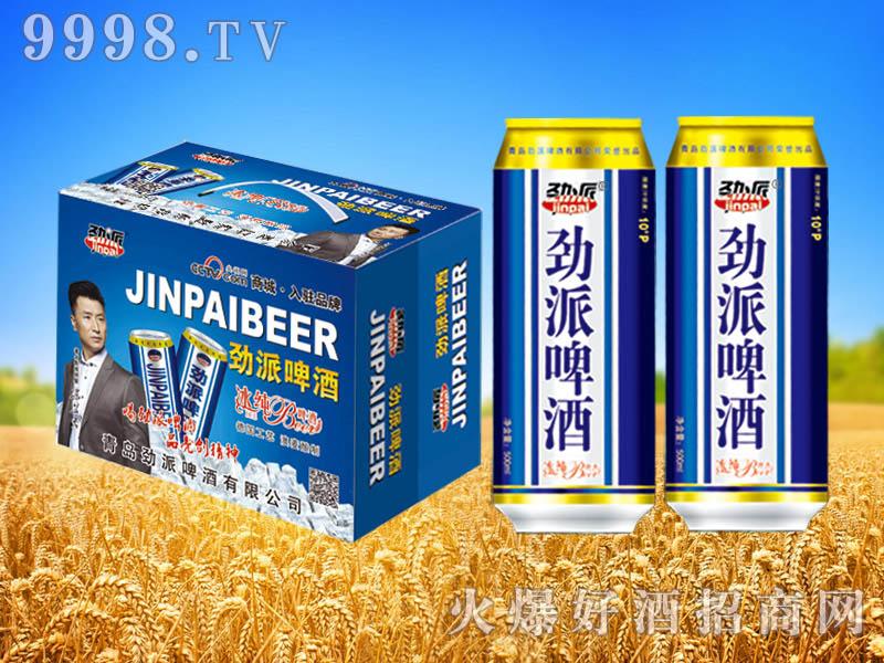 劲派冰纯啤酒500ml×12罐