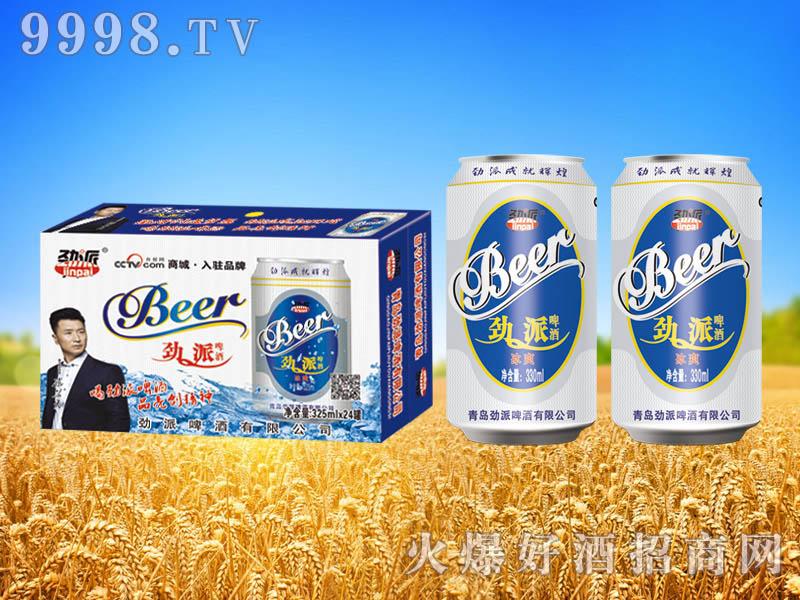 劲派冰爽啤酒330ml×24罐