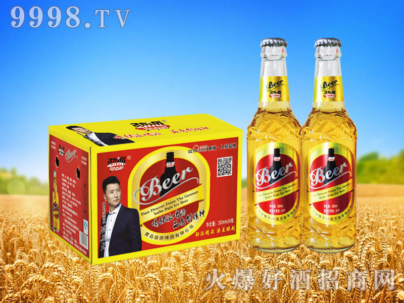 劲派新品啤酒330ml×24瓶