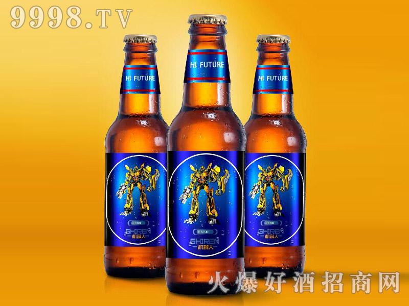 机器人啤酒瓶装・蓝标330ml