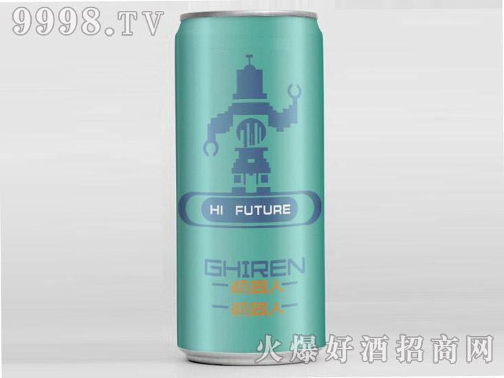 机器人啤酒・绿罐500ml