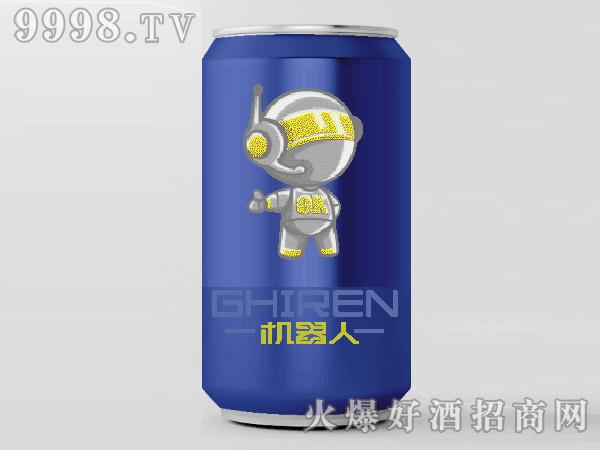 机器人啤酒・小白330ml(蓝)