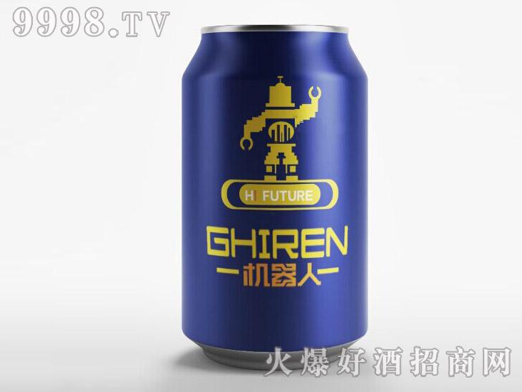机器人啤酒・蓝罐330ml