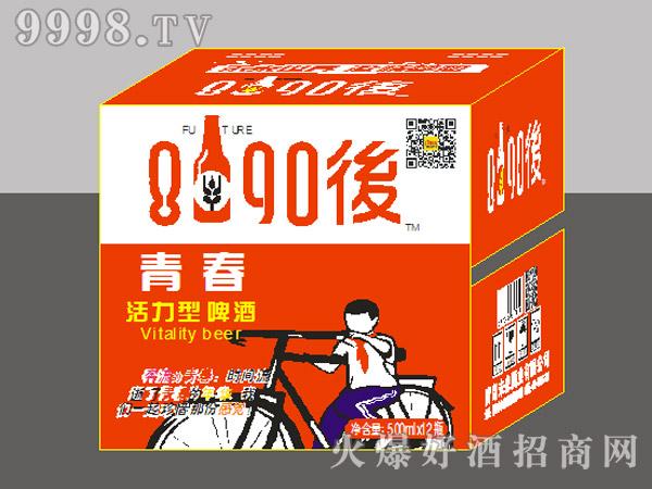 8090后啤酒・青春活力型500mlx12瓶