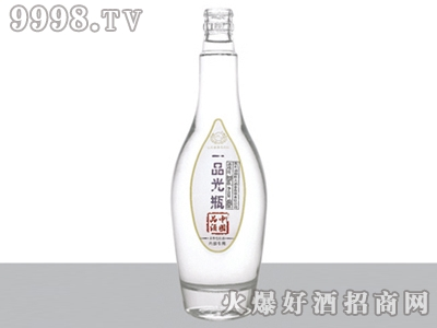 郓城恒瑞玻璃瓶一品光瓶酒084 480ml