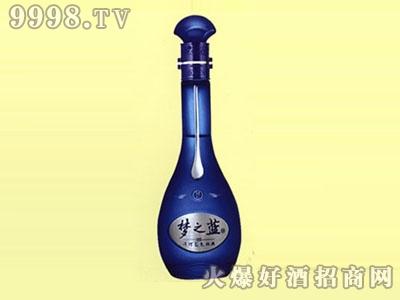 醴陵喷涂酒瓶梦之蓝酒XB-054