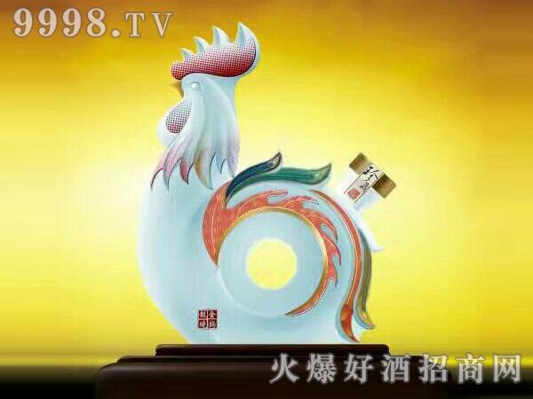 西北骄青稞酒・金鸡报晓
