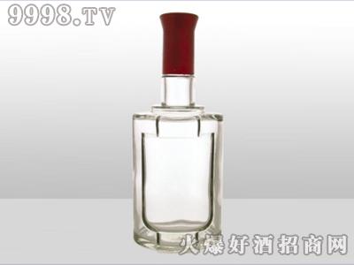 华鹏高白玻璃瓶红瓶盖ZH-821 500ml