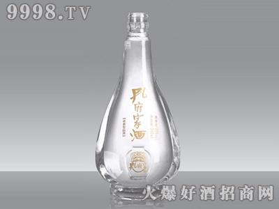 华鹏晶白玻璃瓶孔府家酒ZHJ-015