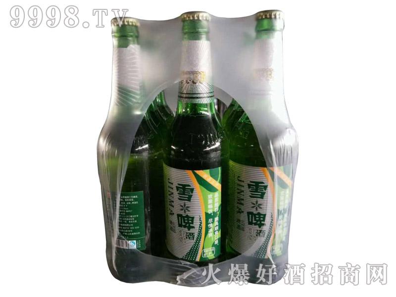 雪啤酒塑包装