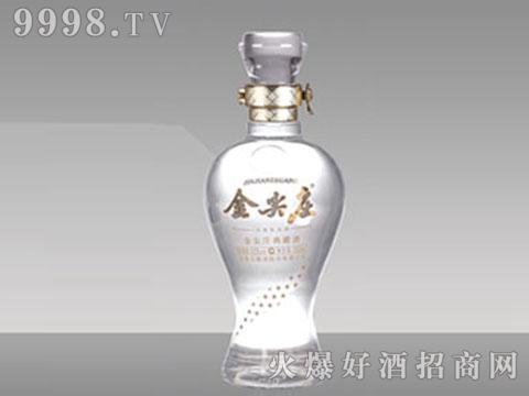 和平玻璃瓶JP-054金尖庄500ml