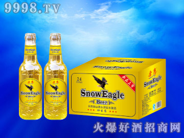 雪鹰冰生态啤酒330ml