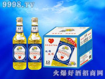 雪鹰低糖低醇啤酒500ml