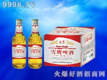 雪鹰丰年啤酒500ml