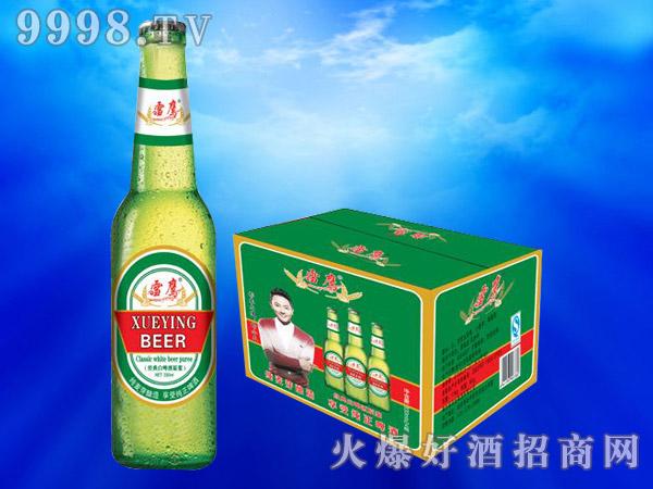 雪鹰经典白啤酒原浆330ml(绿箱)
