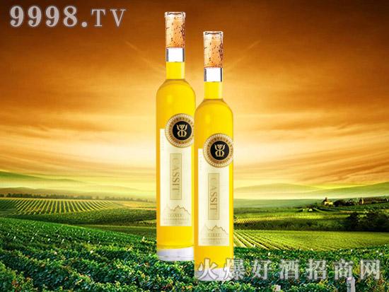 青岛卡斯特冰白葡萄酒