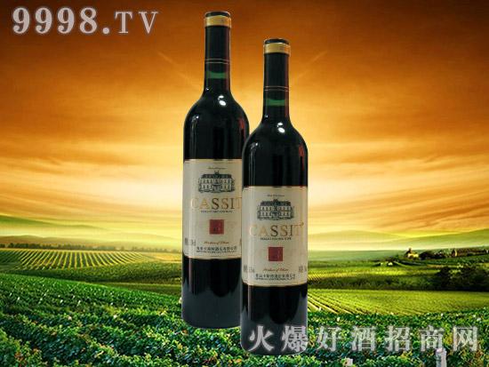 青岛卡斯特美乐干红葡萄酒