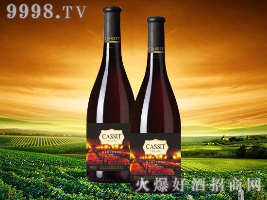 青岛卡斯特橡木桶干红葡萄酒