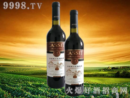 青岛卡斯特18年树龄干红葡萄酒