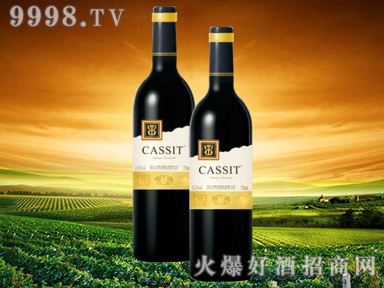 青岛卡斯特蛇龙珠干红葡萄酒