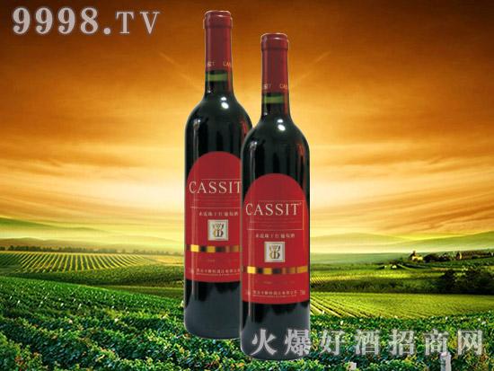 青岛卡斯特赤霞珠干红葡萄酒