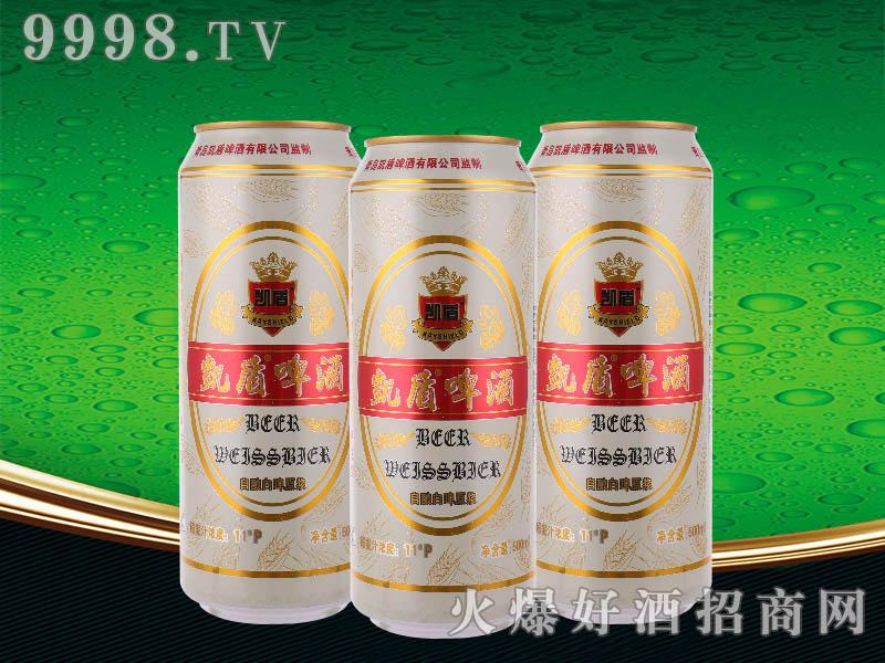 凯盾自酿白啤酒500ml