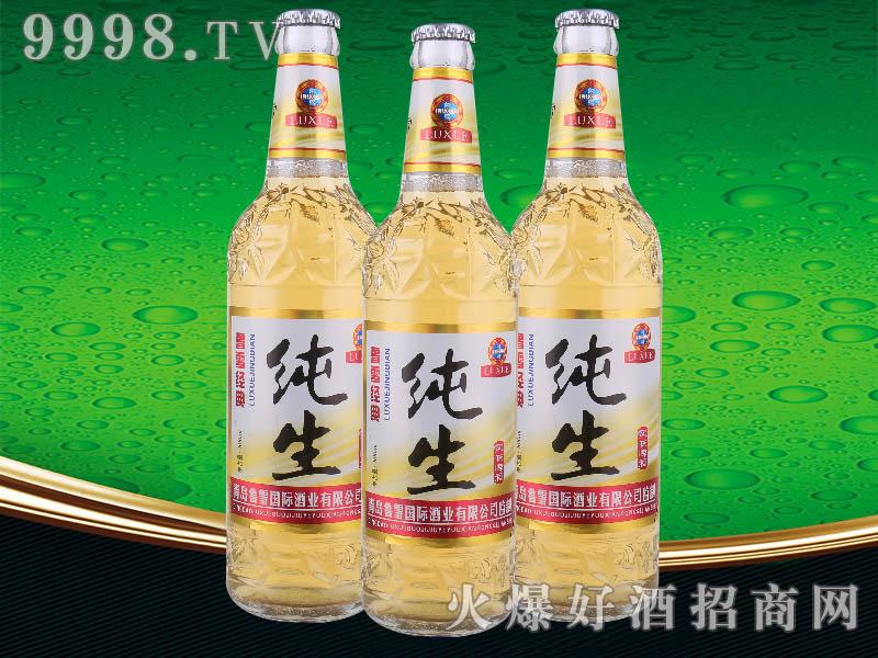鲁雪经典纯生啤酒500ml