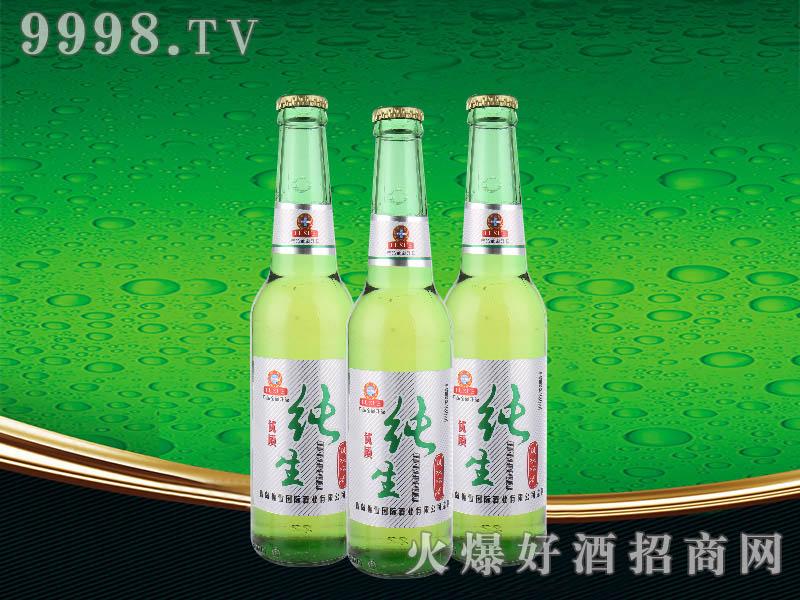 鲁雪优质纯生啤酒330ml