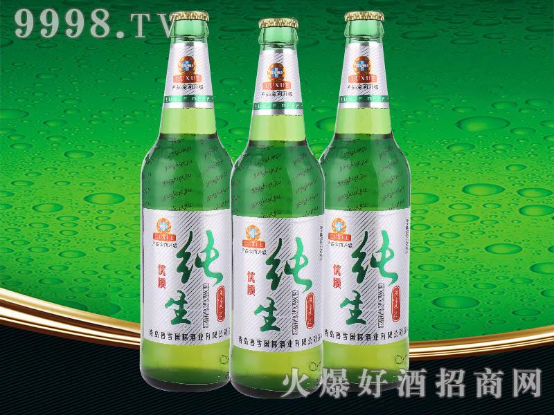 鲁雪优质纯生啤酒500ml
