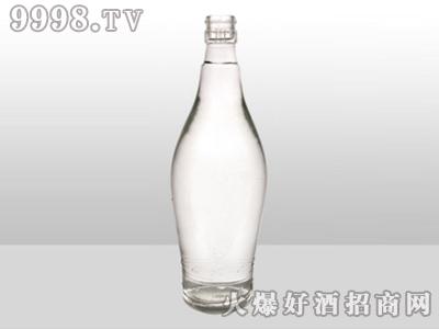 醴陵高白玻璃瓶五粮醇酿ZH-700 500ml