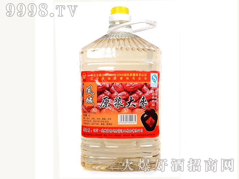 凤城时代原浆大枣酒45度 5L