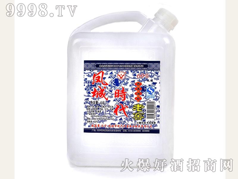 凤城时代营养滋补老窖酒 50度 4.5L