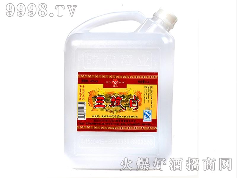 凤城时代五粮白酒42°4.5L