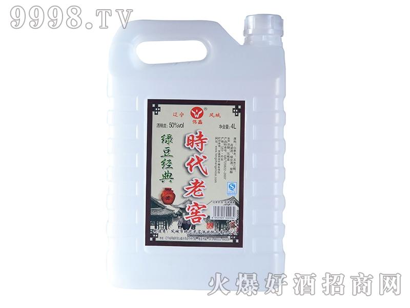 凤城时代绿豆经典酒50°4L