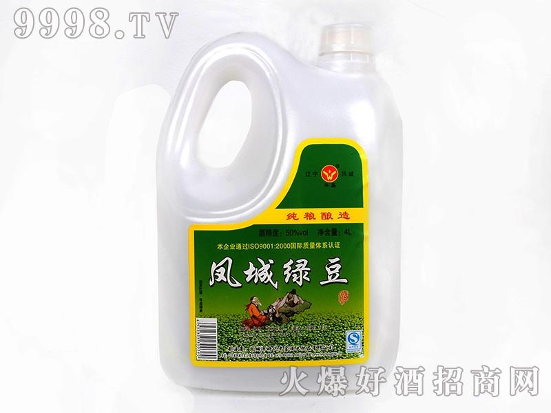 凤城时代绿豆酒 50度4L