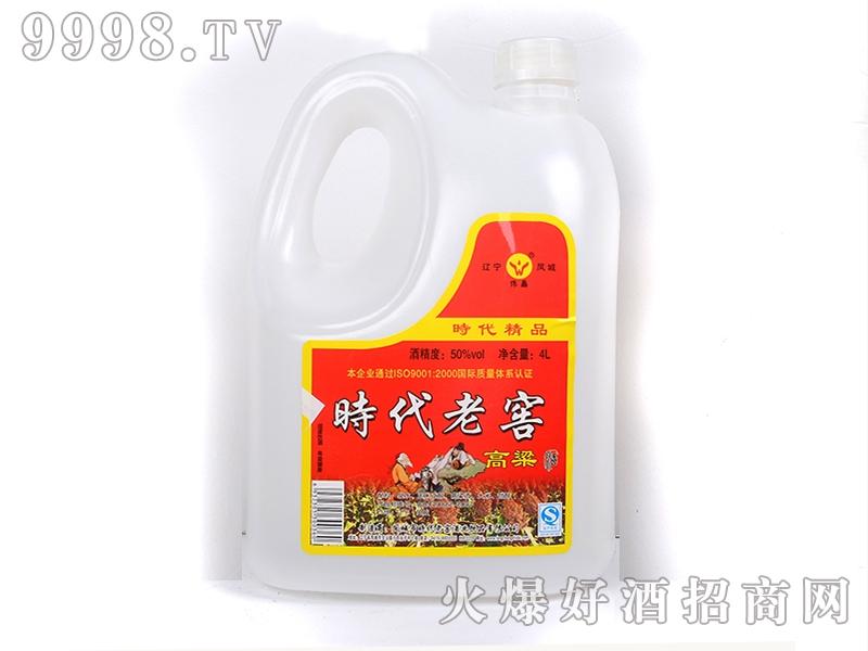 凤城时代老窖高粱酒 50° 4L