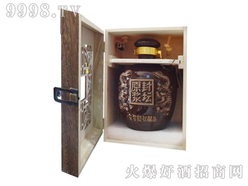 禹醉坊封坛原浆酒(开盒)