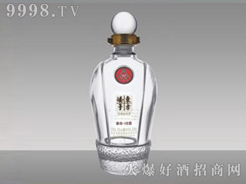 晶白玻璃酒瓶YJ-041东方娇子450-500ml