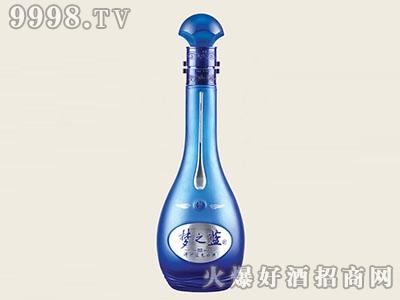醴陵晶白玻璃瓶梦之蓝JB-197 500ML