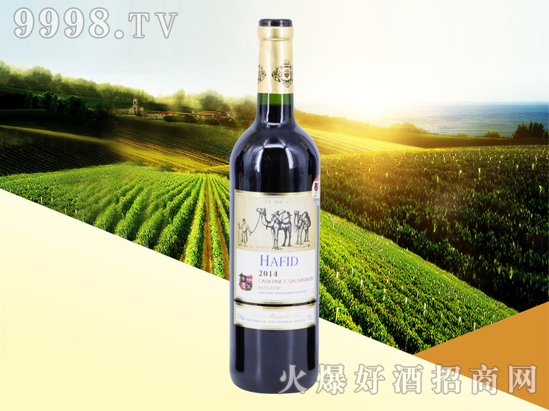 法国・海菲赤霞珠干红葡萄酒