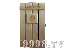 圣图酒堡双支木盒-4