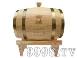 圣图酒堡5L橡木桶-6