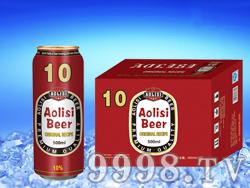 澳利斯啤酒500ML-325ML(红瓶装)