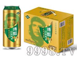 博酷葛根啤酒金罐500ml×12听