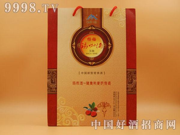 杨梅玛咖酒(玉咖)精装