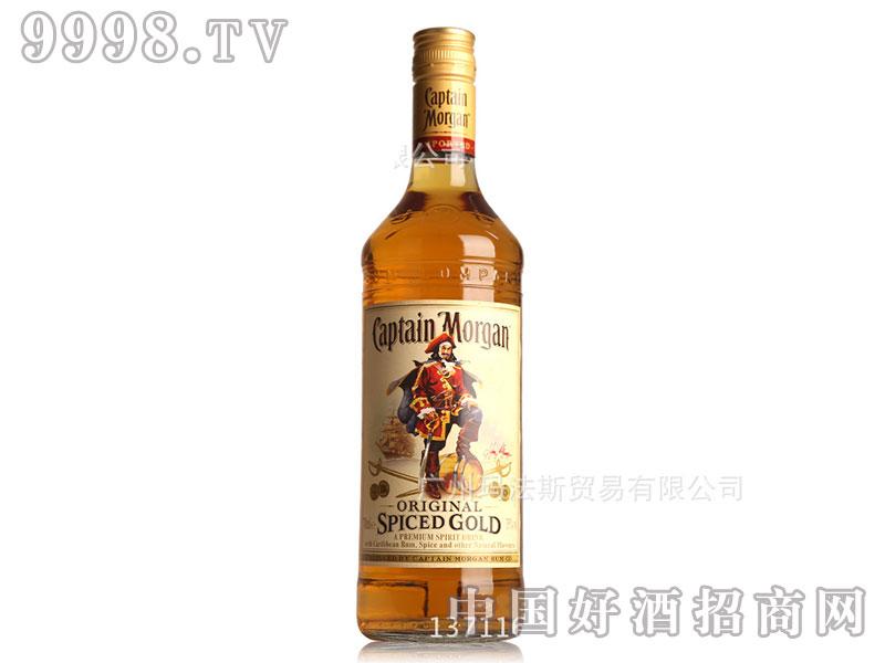 摩根船长原创金标调味朗姆酒